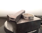 Arrow Spinner Ring in Sterling Silver - Made Upon Order