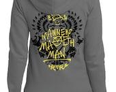 Final Print Run //  Kingsman Hoodie //  Manners Maketh Man Hooded Sweatshirt // Tagged by Eggsy // Hand Screen Printed