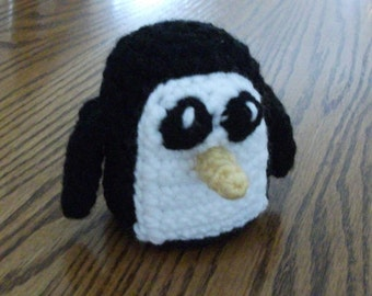 Crochet Gunter the Penguin from Adventure Time, Made to Order