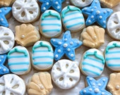 5 Dozen Walk on the Beach Themed cookie nibbles