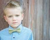 Dried Herb bow tie, green bow tie, olive bow tie, ring bearer bow tie, boys green bow tie, toddler bow tie, baby bow tie, men's bow tie