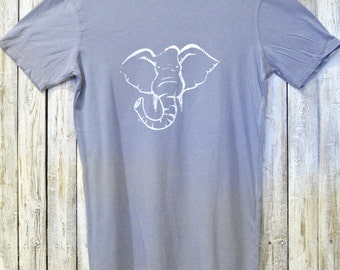 Mens ELEPHANT Tshirt, Elephant Tee Shirt, Bamboo & Organic Cotton T-shirt for Men