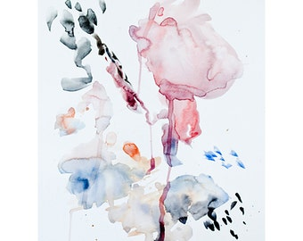 c r e a t i o n | original abstract meditative watercolor painting | stephanie guarino
