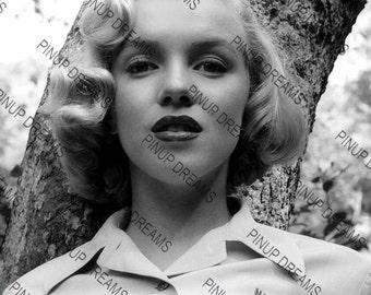 "Vintage Retro Photo Wall Art Print of Marilyn Monroe Hollywood Movie Stars size A4 (11.7"" x 8.3"")"
