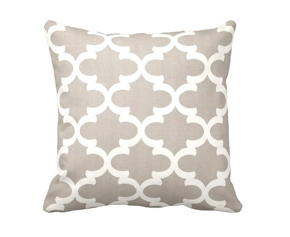 Throw Pillows For Taupe Sofa : Taupe Throw Pillow Cover Taupe Pillow Cover Moroccan Pillow