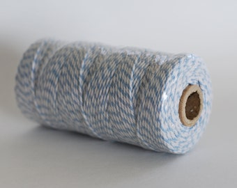 Blue and White Baker's Twine, 110 yards