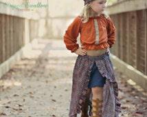 Festival Skirt PDF Sewing Pattern ... Sizes 2T-14yrs