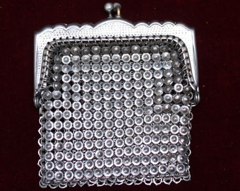 ALPACA mesh purse - 1940's