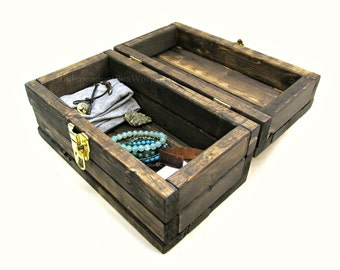 Wooden memory box | Etsy