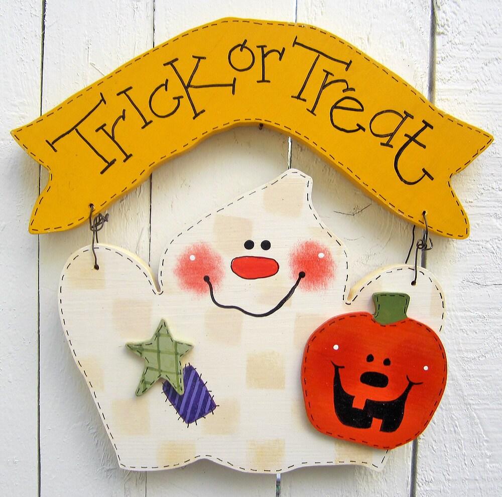 Door hanger fall front door decoration pumpkin door decoration -  Zoom