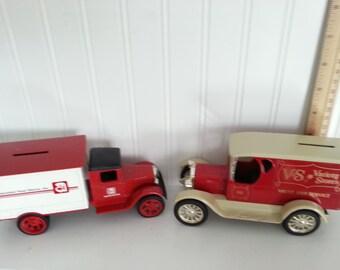 Truck piggy bank  Etsy