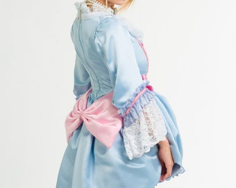 Marie Antoinette Victorian 18th Century Costume Gown
