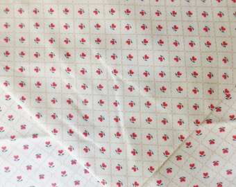 """Country Calico Fabric,  2 yd x 45"""", Red Heart Cotton Fabric"""