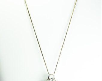 Citrine with Black Tourmaline - Talisman Amulet - Unique Original Jewelry Design by Philip Crow
