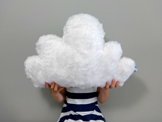 Items Similar To WHITE FLUFFY CLOUD Pillow Cushion Faux