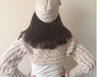 Knitted shrug | Etsy