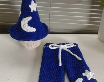 Wizard Hat and Pants Set