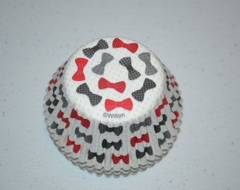 Bowtie Cupcake Liner/Cupcake Liners/Boy Birthday Cupcake Liners/Boy Bowtie Cupcake Liners/Bowtie Liners/Bowtie