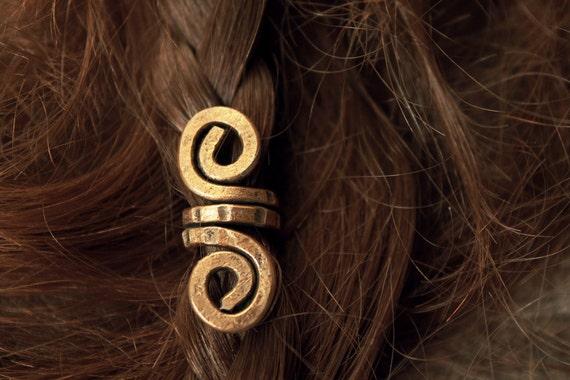 2 custom Viking petit cheveux perles \u2022 Viking perles barbe bijoux Viking  bijoux \u2022 cheveux accessoires Dreadlock accessoires bijoux nordique