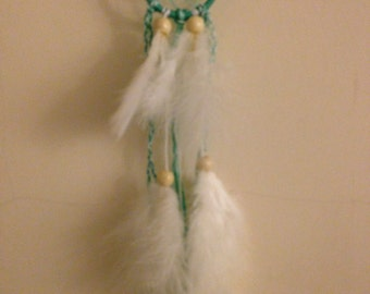 Small Turquoise Dreamcatcher