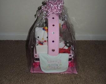 Hello Kitty Baby Shower Wagon