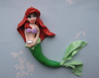 Little Mermaid Cake Topper Etsy