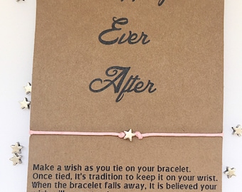 Happily Ever After Quote, Wedding Favors, Wedding Table Favors, Personalized Wedding Favors