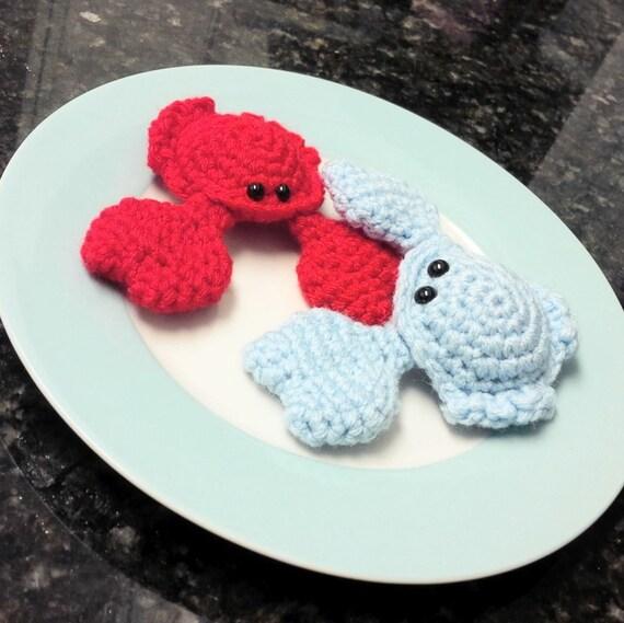Crochet Amigurumi Crab : Crochet Crab Amigurumi Pattern