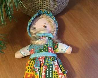 Vintage Holly Hobby Doll Cloth Doll