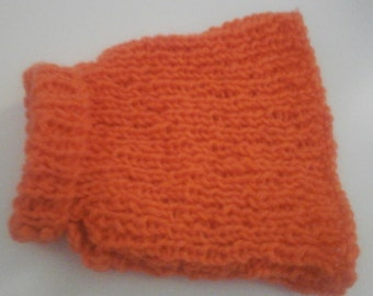 Dog Sweater, Dog Jumper, Halloween Pumpkin Orange, Pet Clothing
