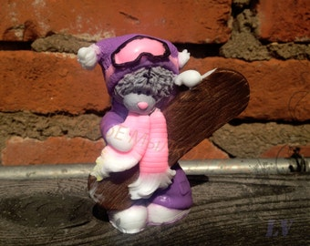 "Hand soap ""Teddy-snowboarder"""