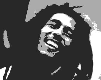 Bob Marley Pop Art *** downloadable ***