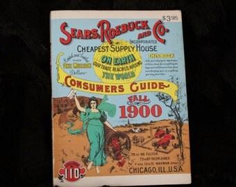 Sears Roebuck & Co. Fall 1900 Consumers Guide