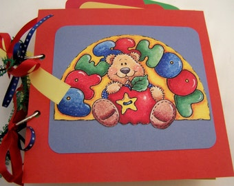 Handmade Preschool Album