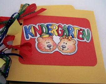 Handmade Kindergarten Album School Journal