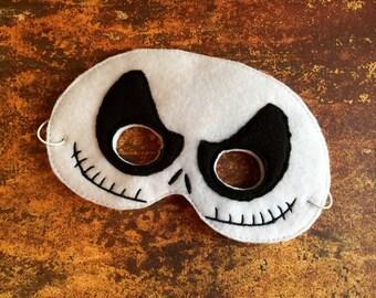 Jack Skellington Mask Costume Accessory