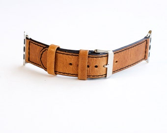 Apple Watch Band, Apple Watch Strap, Leather Apple Watch Strap, Horween Leather Apple Watch Strap
