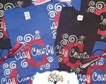 Clay County Swirly Shirt