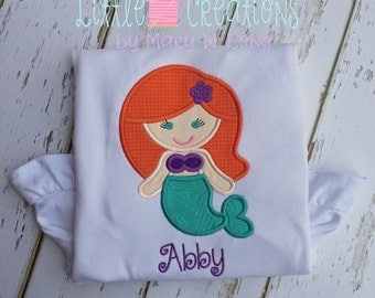 Mermaid Applique Shirt