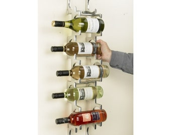 Monte Carlo wall mounted wine rack