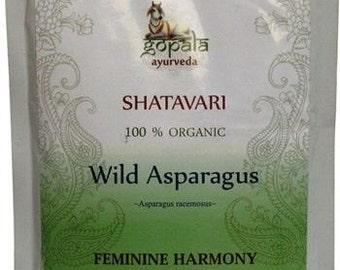 Shatavari Powder  (USDA Certified Organic) - Gopala Ayurveda