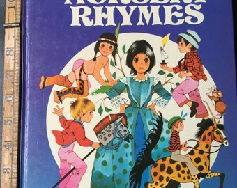 My Treasury of Rhymes Author Traditional, Illustrated by Rene Cloke 1981