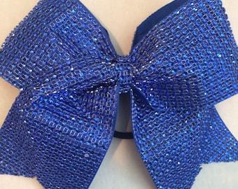 Cheer Bow Royal Blue