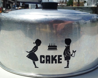 Vintage Hawthorn Cake Dome / Cover