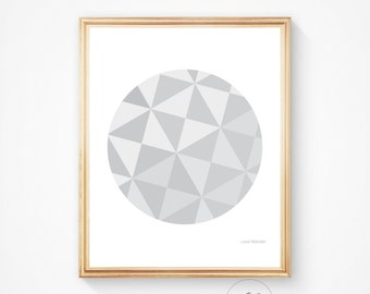 Abstract art, Scandinavian art, Abstract poster, mid century modern, Geometric poster, Geometric, Wall art, Geometric art, home decor