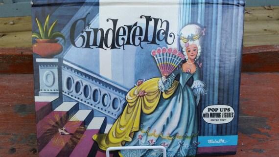 Vintage Cinderella Pop-up Book