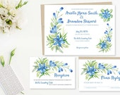 Painted Floral Wedding In...