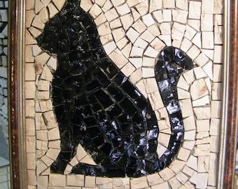 Cat Mosaic Etsy