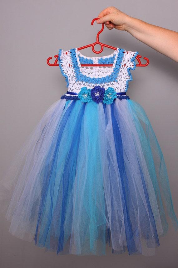 Вязаное платье для девочки своими руками