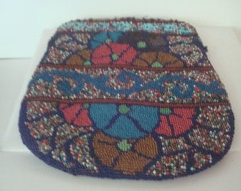 Vintage Native American (?) beaded purse